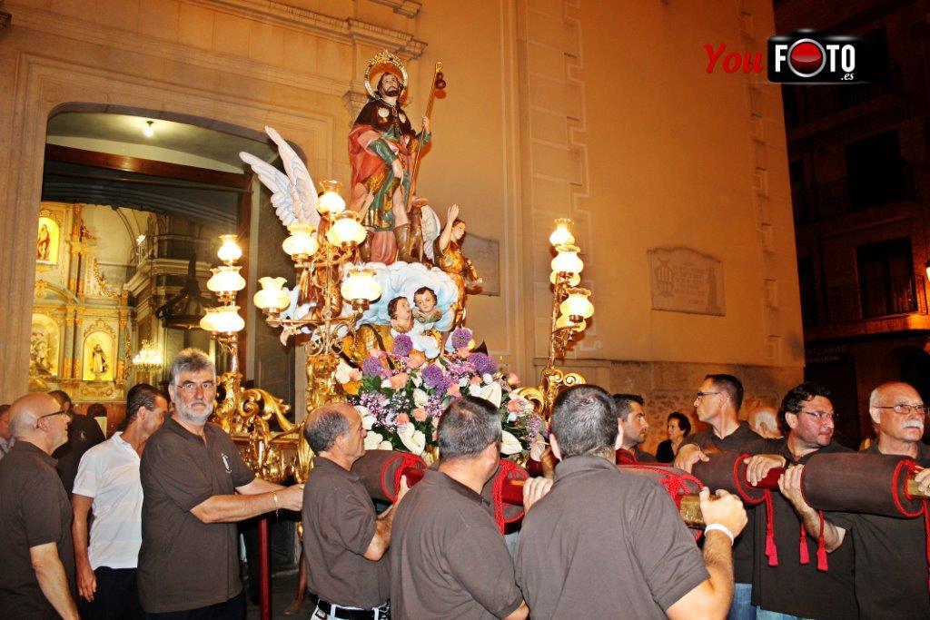 Traslado de San Roque en Paiporta, en su 125 aniversario.
