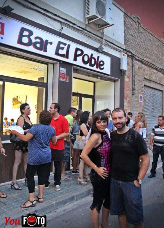 Inauguración Bar el poble en Benetusser