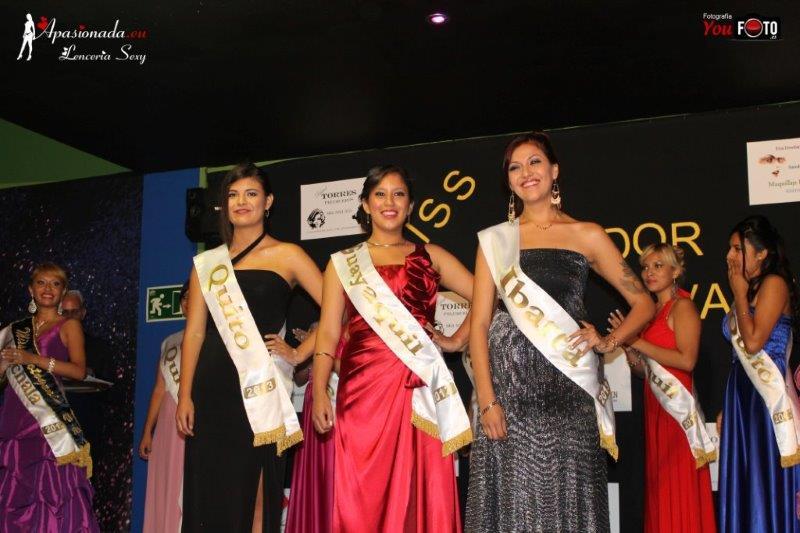 Vídeo de la Gala de Miss Ecuador Valencia 2013