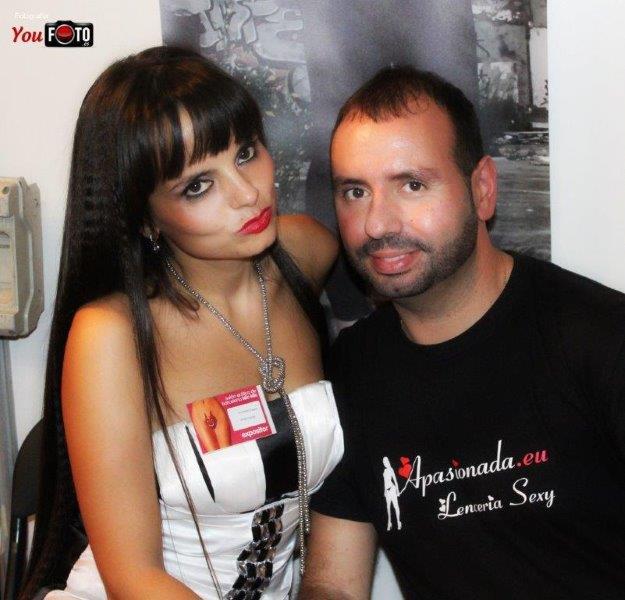 Exponiendo en el Salón Erótico de Barcelona 2013, con Apasionada Lencería Sexy