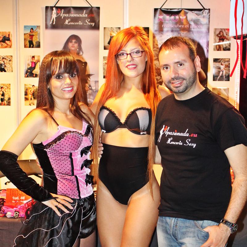 Apasionada Lencería Sexy en el Festival Erótico de Alicante 2013.