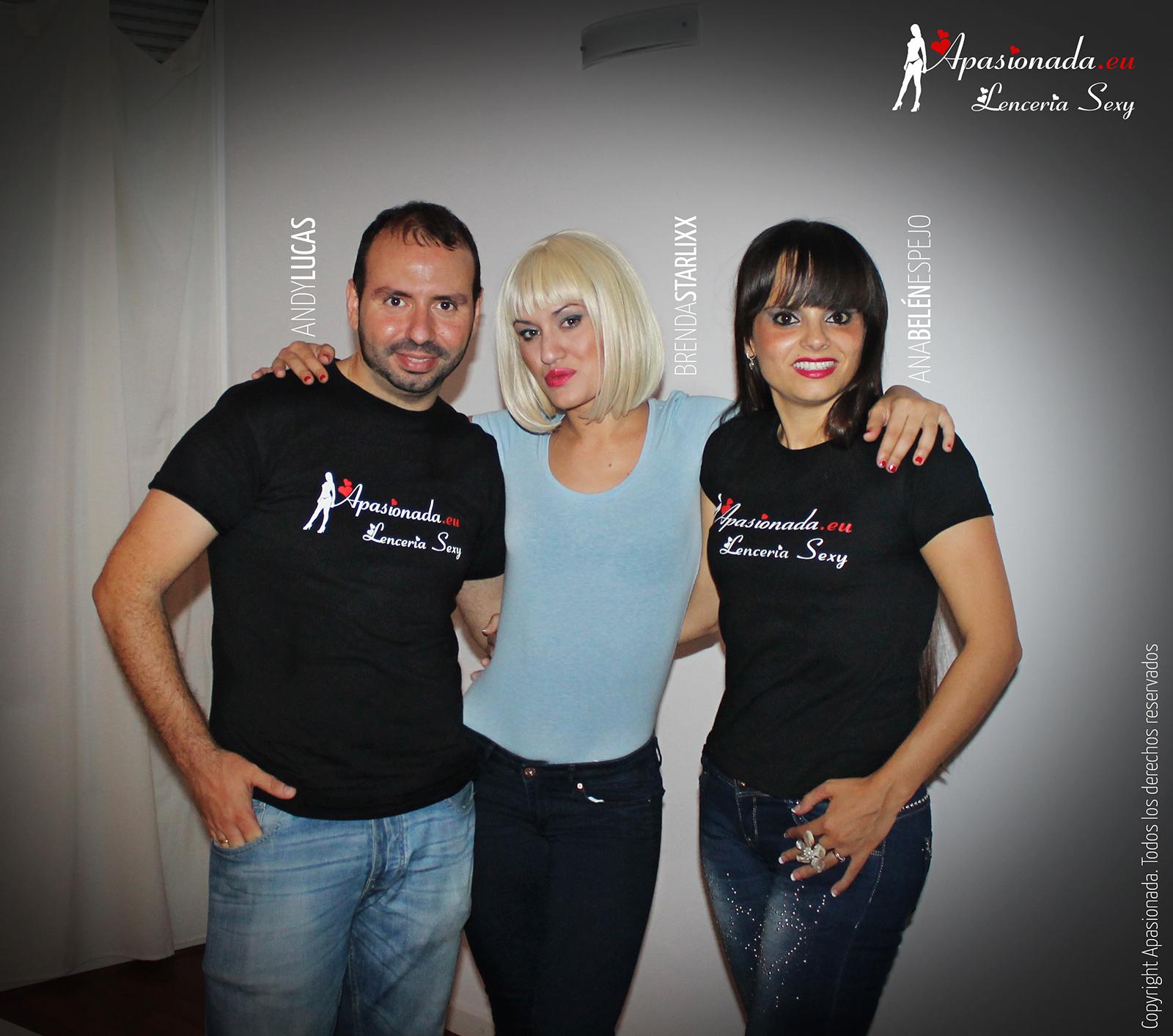 Sesión de fotos para Apasionada Lencería Sexy, con Brenda Starlix