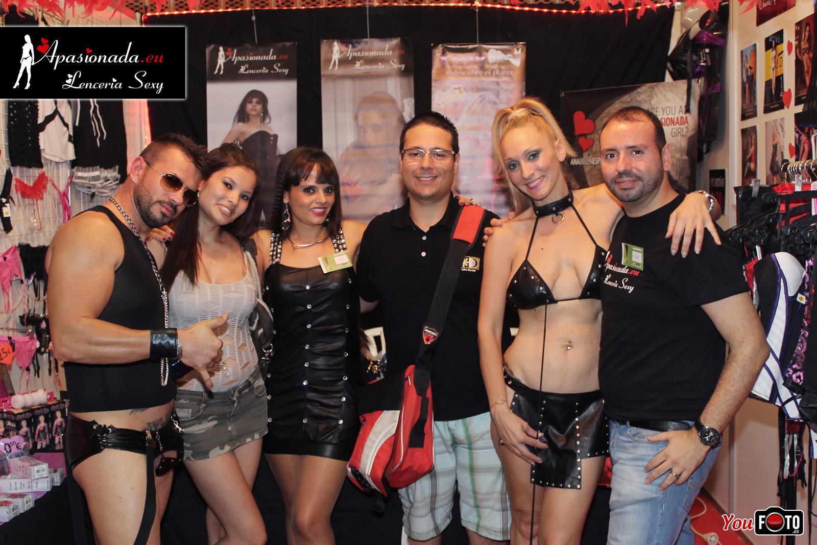 En el stand de Apasionada en el Salón Erótico de Barcelona 2014