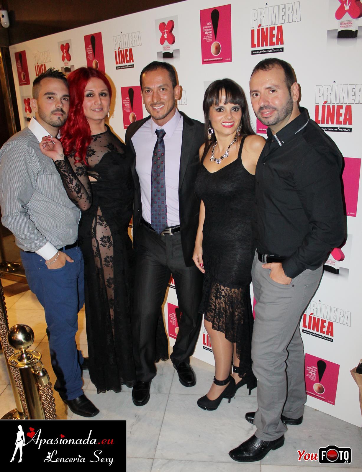 Nuestro equipo en los Premios Ninfa de Primera Linea