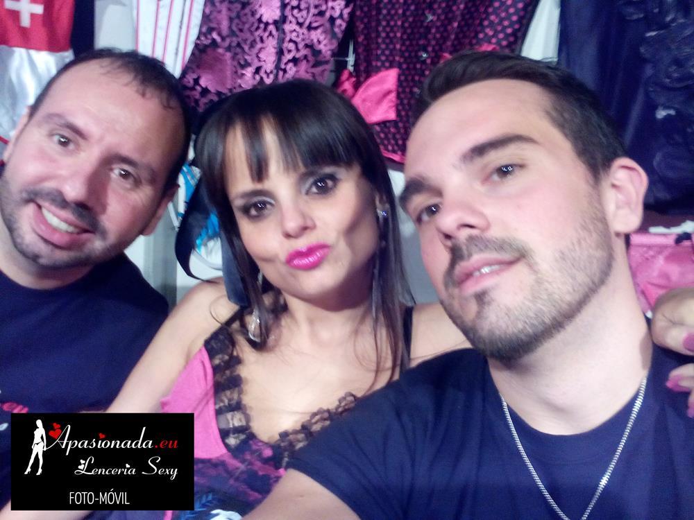 En el stand de Apasionada en Festival Erótico de Alicante 2014