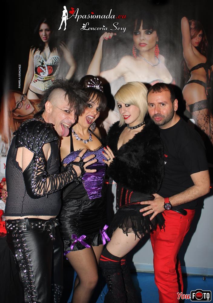 Exponiendo con Apasionada en el Salón Erótico de Murcia 2015