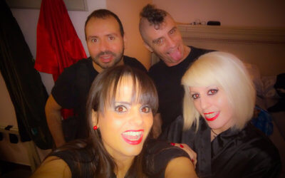 Divertida tarde con nuestros amigos Nora Barcelona y Rat Penat